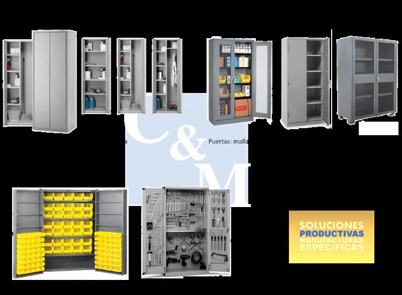 Gabinetes metalicos c m industriales for Cocinas industriales monterrey